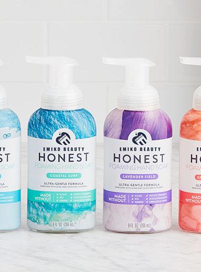 hand soap category