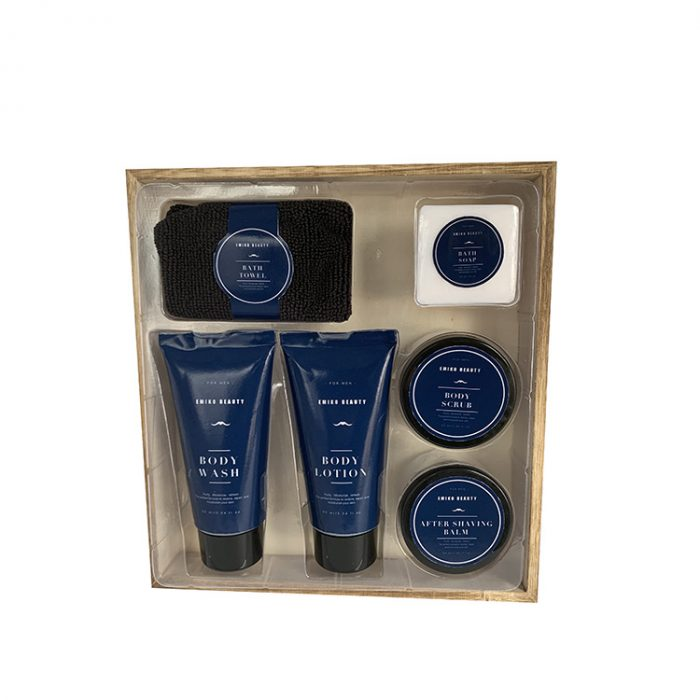 Personal care shower gel body lotion bath gift set-3