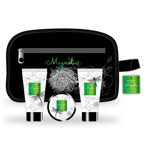 green gift bath set-2